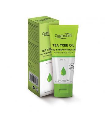 Cosmoderm tea tree oil day & night moisturiser 50ml